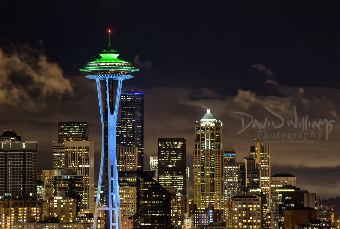 The Seattle Space Needle David Williams Photography